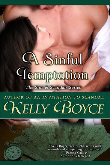 A Sinful Temptation - Sins & Scandals Series #3 - cover