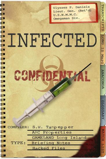 Infected: Hacked Files from the GAMELAND Archive - SW Tanpepper's GAMELAND #9 - cover