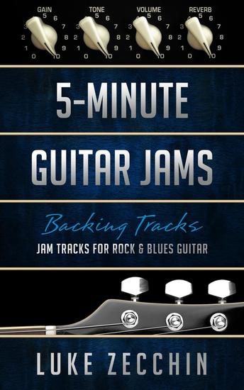 5-Minute Guitar Jams: Jam Tracks for Rock & Blues Guitar (Book + Online Bonus) - cover