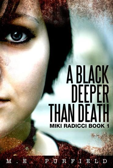 A Black Deeper Than Death - Miki Radicci #1 - cover