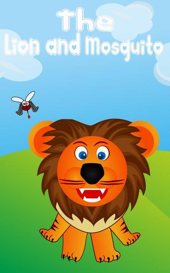 Kids Books: The Lion and mosquito - Kids books Series #1 - cover