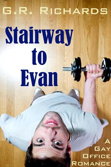 Stairway to Evan: A Gay Office Romance Short - cover