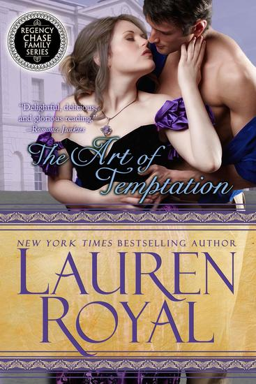 The Art of Temptation - Regency Chase Family Series #3 - cover