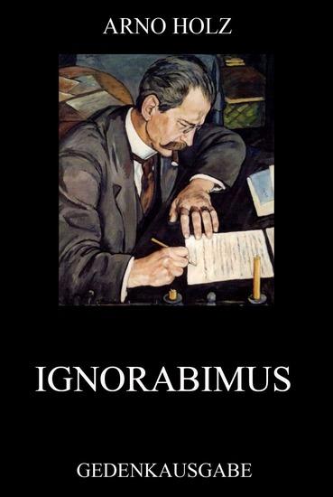 Ignorabimus - Erweiterte Ausgabe - cover