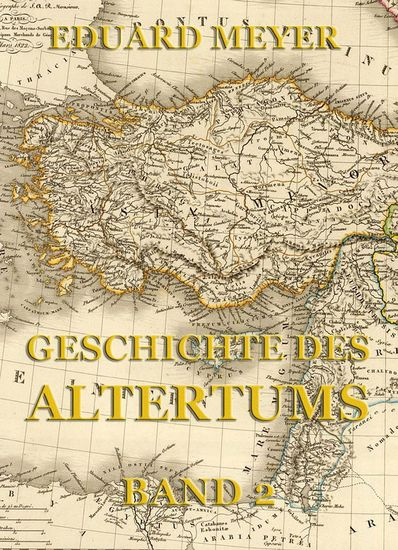 Geschichte des Altertums Band 2 - Erweiterte Ausgabe - cover
