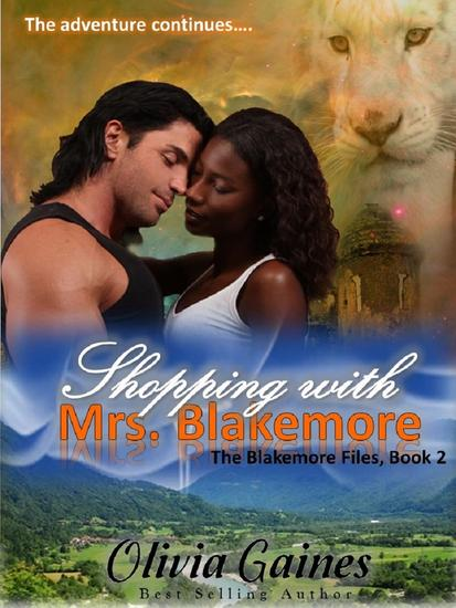 Shopping with Mrs Blakemore - The Blakemore Files #2 - cover