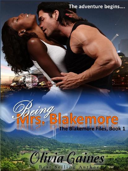 Being Mrs Blakemore - The Blakemore Files #1 - cover