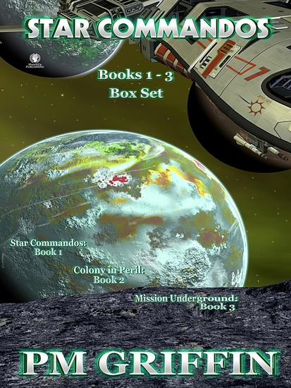 Star Commandos: Books 1 to 3 Bundle - cover