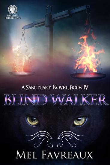 Blind Walker - A Sanctuary Novel - cover