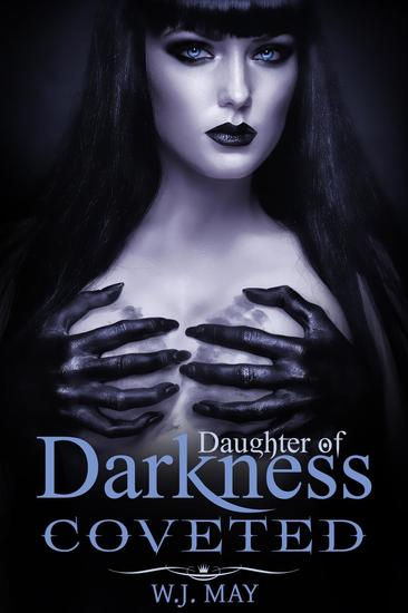 Coveted (A Vampire & Paranormal Romance) - Daughters of Darkness: Victoria's Journey #3 - cover