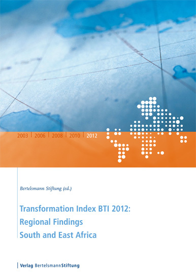 Transformation Index BTI 2012: Regional Findings South and East Africa - cover