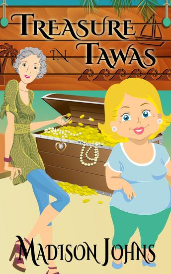 Treasure in Tawas - An Agnes Barton Senior Sleuths Mystery #5 - cover