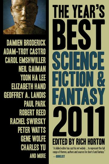 The Year's Best Science Fiction & Fantasy 2011 Edition - cover