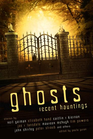 Ghosts: Recent Hauntings - cover