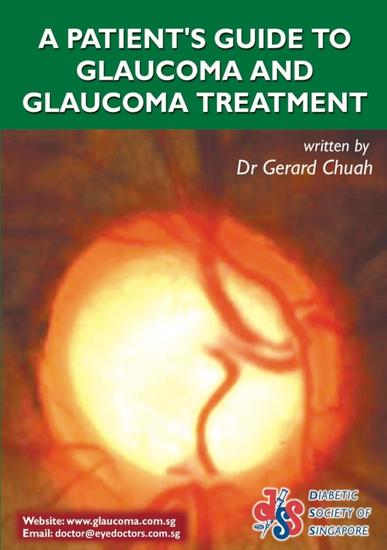 A Patient's Guide To Glaucoma And Glaucoma Treatment - cover
