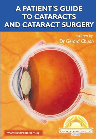 A Patient's Guide To Cataracts And Cataract Surgery - cover