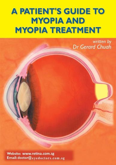 A Patient's Guide To Myopia And Myopia Treatment - cover