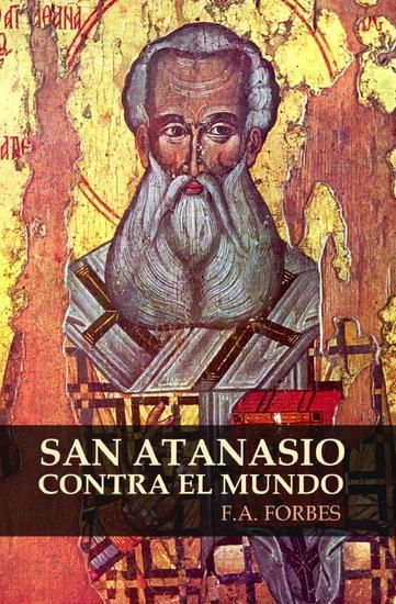 San Atanasio contra el mundo - Colección Santos #6 - cover