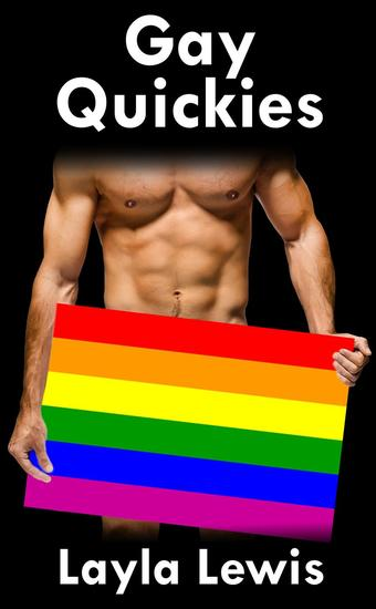 Gay Quickies (a novel-length bundle of gay BDSM and group erotica) - cover