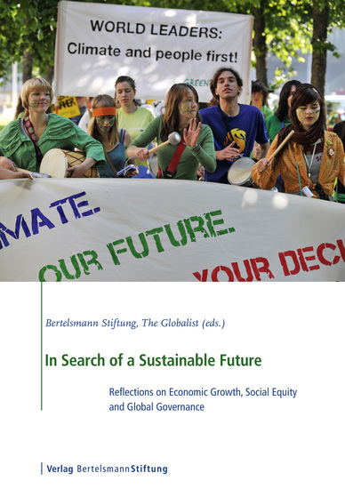 In Search of a Sustainable Future - Reflections on Economic Growth Social Equity and Global Governance - cover