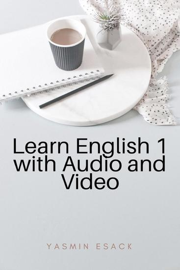 Learn English 1 with Audio and Video - Learn English #1 - cover