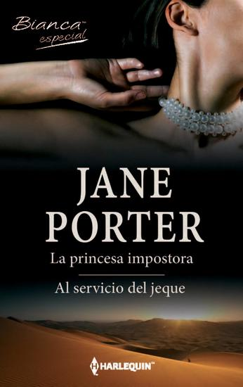 La princesa impostora Al servicio del jeque - cover