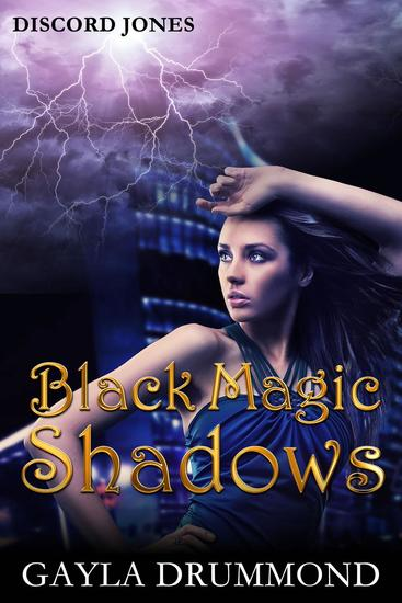 Black Magic Shadows - Discord Jones #5 - cover