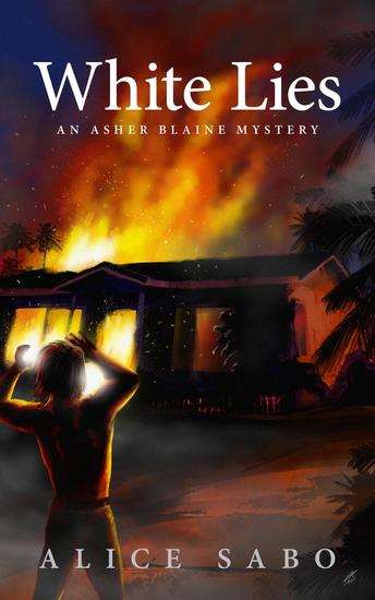 White Lies - Asher Blaine Mysteries #1 - cover