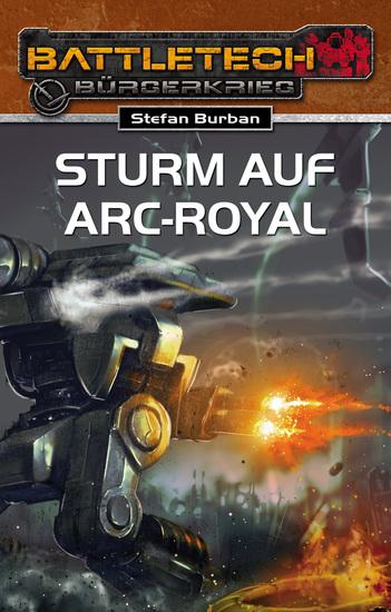 BattleTech 23: Sturm auf Arc-Royal - cover