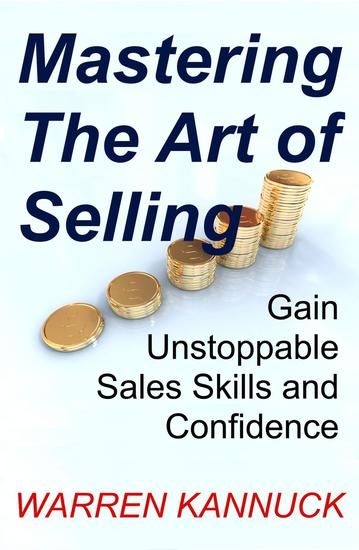 Mastering The Art of Selling - cover