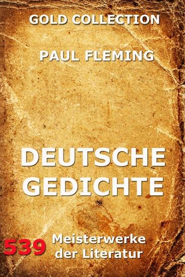 Deutsche Gedichte - Erweiterte Ausgabe - cover