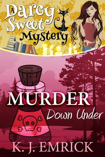 Murder Down Under - Darcy Sweet Mystery #17 - cover