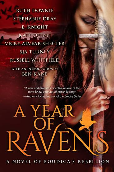 A Year of Ravens: a novel of Boudica's Rebellion - cover