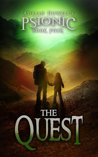 The Quest - Psionic Pentalogy #4 - cover