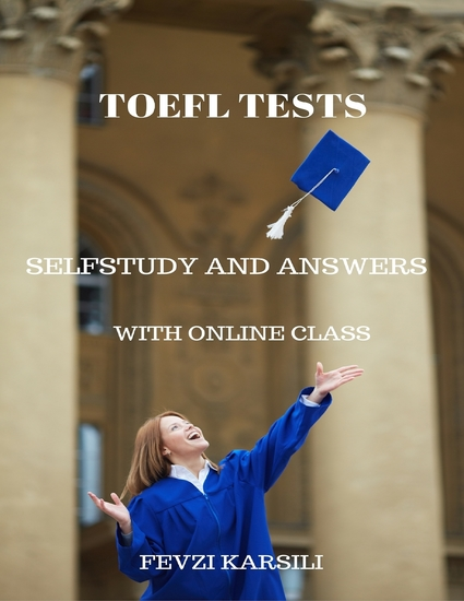 Selfstudy Toefl Tests - cover
