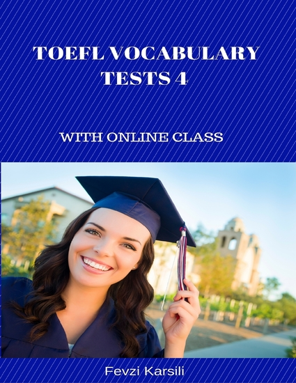 Toefl Vocabulary Tests 4 - cover