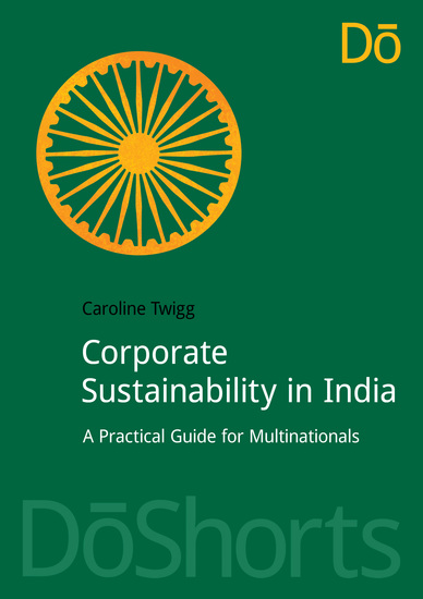 Corporate Sustainability in India - A Practical Guide for Multinationals - cover