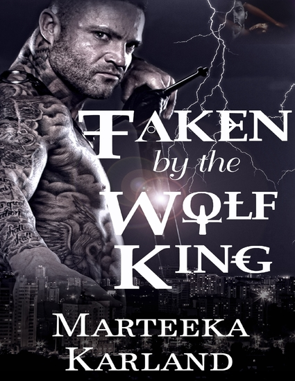 Taken By the Wolf King - cover