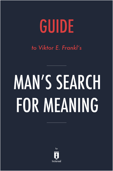 an analysis of mans search for meaning by viktor e frankl Man's search for meaning by viktor frankl insightjunky 3,800 views 6:53 viktor frankl & man's search for meaning existential analysis live.