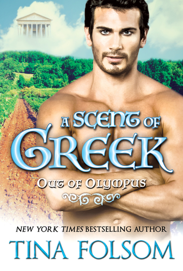 A Scent of Greek (Out of Olympus #2) - cover