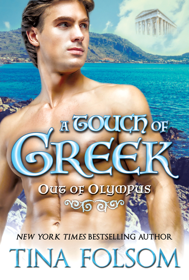 A Touch of Greek (Out of Olympus #1) - cover