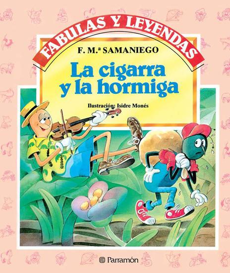 La cigarra y la hormiga - cover