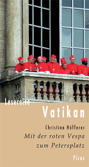 Lesereise Vatikan - Mit der roten Vespa zum Petersplatz - cover