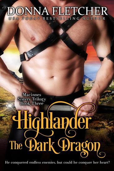 Highlander The Dark Dragon - Macinnes Sisters Trilogy #3 - cover
