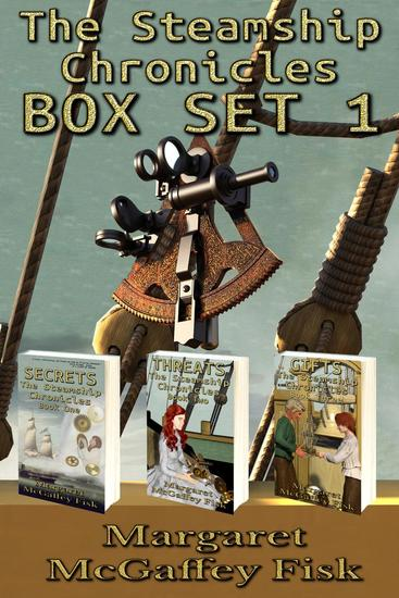 The Steamship Chronicles Box Set 1 - cover