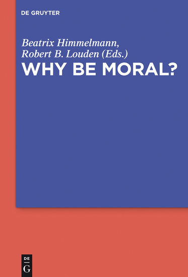 Why Be Moral? - cover