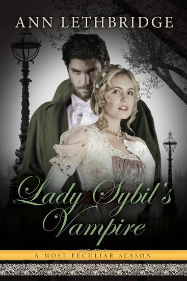 Lady Sybil's Vampire - A Most Peculiar Season #5 - cover