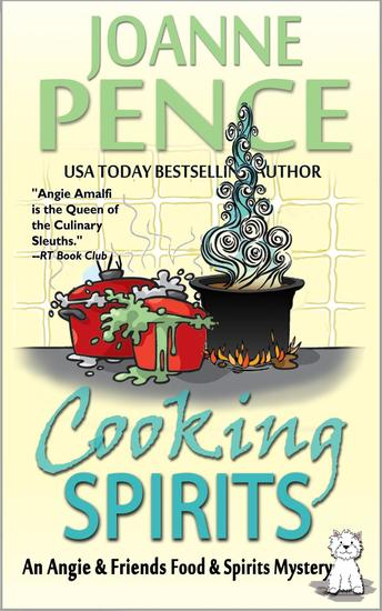 Cooking Spirits (An Angie & Friends Food & Spirits Mystery) - The Angie & Friends Food & Spirits Mysteries #1 - cover