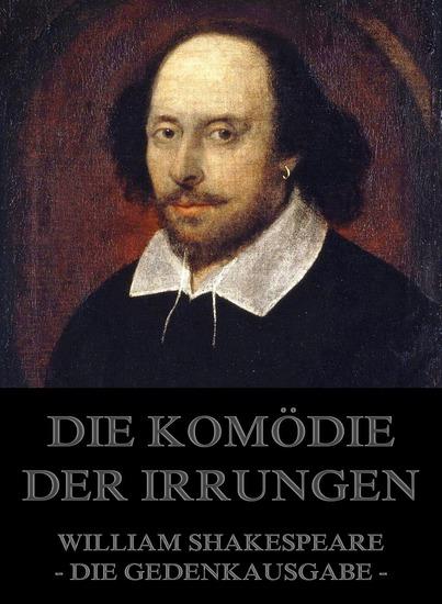 Die Komödie der Irrungen - Erweiterte Ausgabe - cover