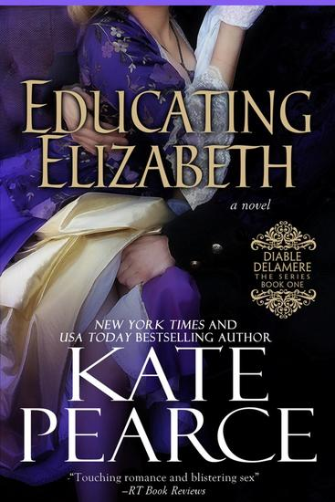 Educating Elizabeth - Diable Delamere #1 - cover